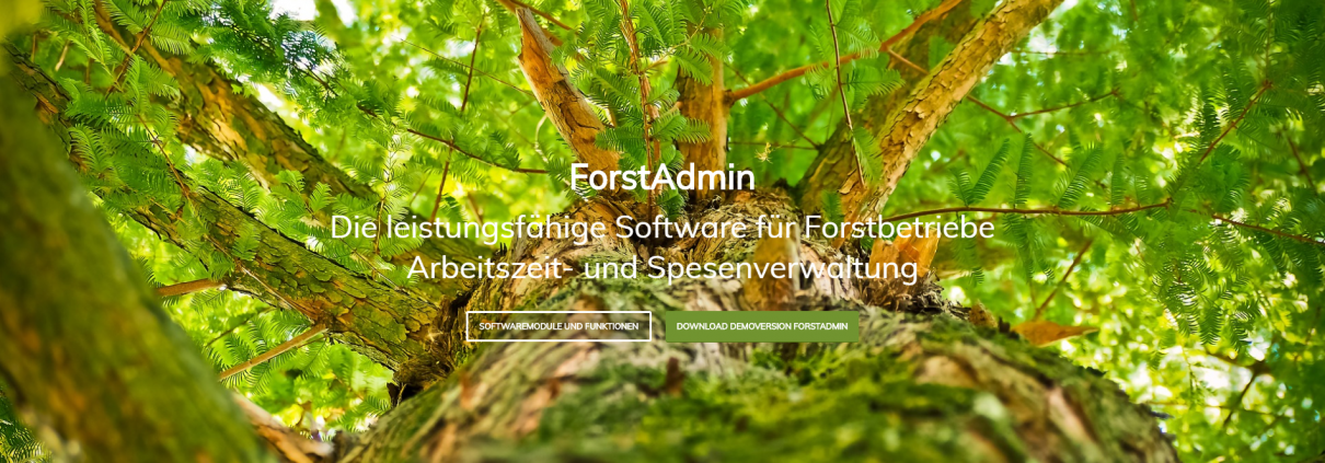 Webseite ForstAdmin
